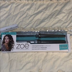 NWT 3-In-1 curl designer! 3 heading curling wand!
